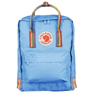 Рюкзак Fjallraven Kanken Classic Rainbow Air Blue