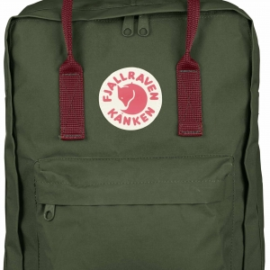 Рюкзак Fjallraven Kanken Classic Forest Green Red Ox
