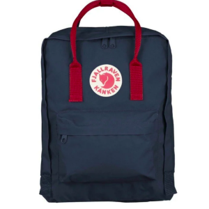 Рюкзак Fjallraven Kanken Classic Navy Blue + Red Ox
