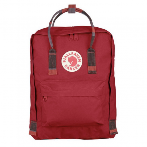 Рюкзак Fjallraven Kanken Classic Deep Red + Random Blocked