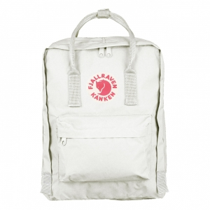 Рюкзак Fjallraven Kanken Classic White Save the Arctic Fox