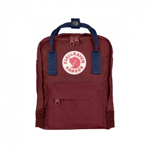 Рюкзак Fjallraven Kanken Mini Red Ox + Royal Blue