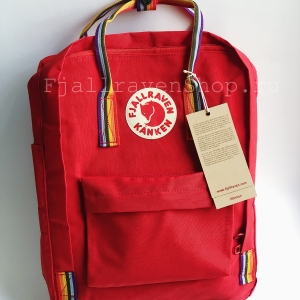 Рюкзак Fjallraven Kanken Classic Rainbow Red