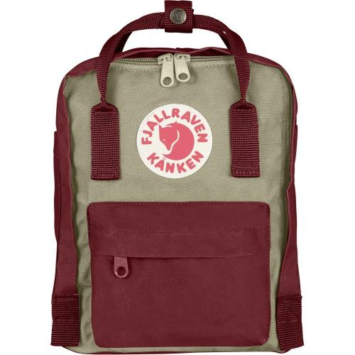 Рюкзак Fjallraven Kanken Mini Red Ox + Fog