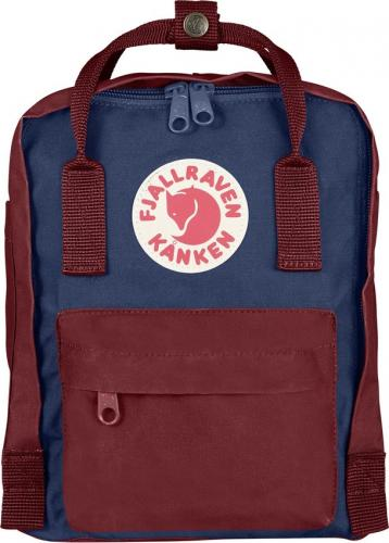 Рюкзак Fjallraven Kanken Mini Mini Red Ox + Royal Blue